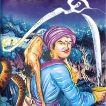 """Викрамадитья - главный герой сказки """"Индийский покойник"""""""