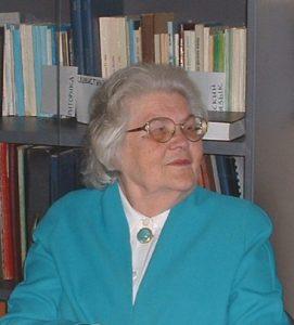 Доктор филологических наук профессор Вера Александровна Кочергина