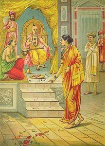 Савитри рассказывает о Сатьяване Нараде и Ашвапати